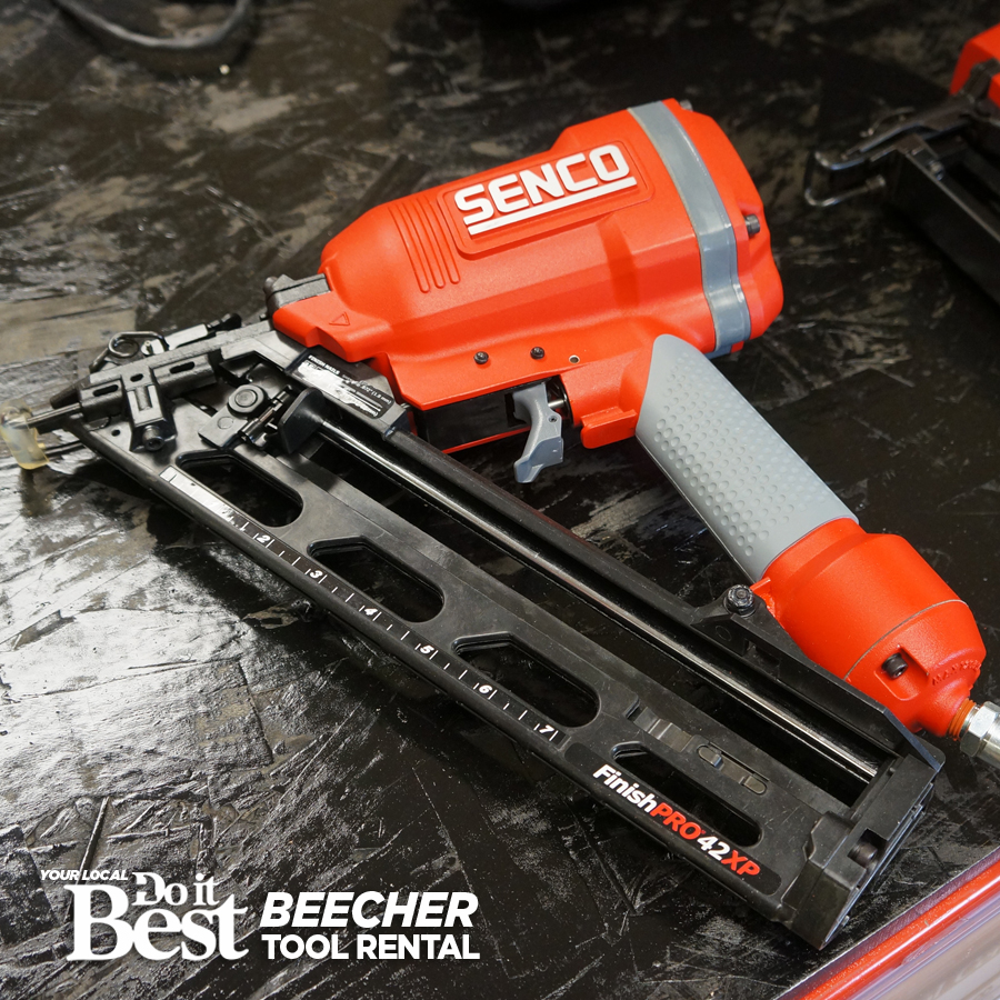 Air Finishing Nailer Rental