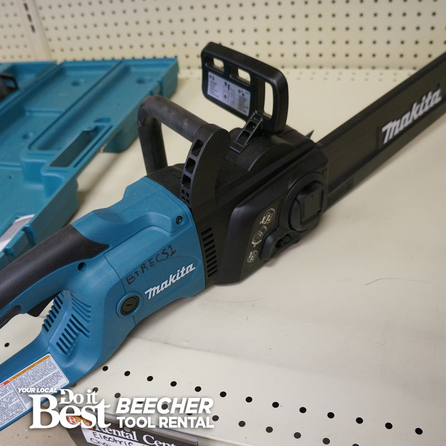 Electric Chainsaw Rental
