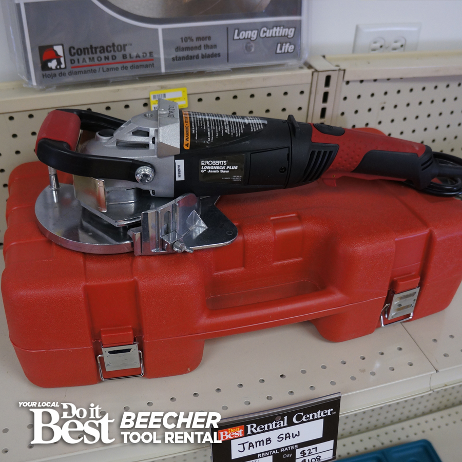 Jamb Saw Beecher Do It Best Tool Rental