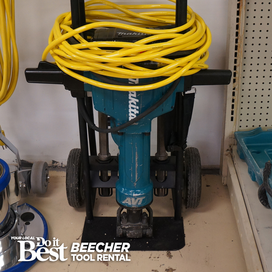 Large Concrete Breaker Rental